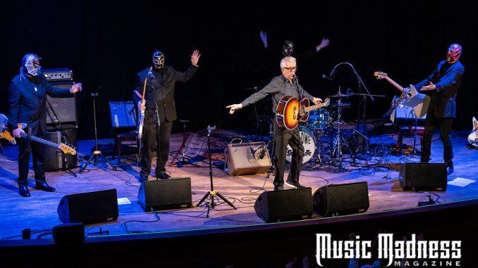 legendary songwriter Nick Lowe,instrumental genius, music madness magazine
